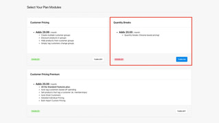 Add Quantity Breaks module to offer volume based pricing