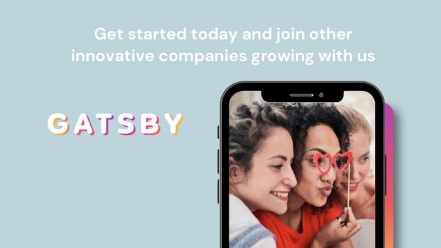 Get started with Gatsby today