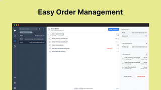 Easily manage digital orders and track customer access