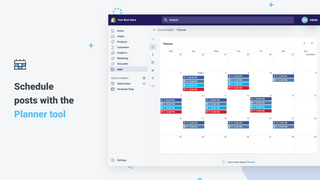 Schedule posts with the Planner tool