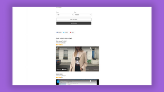 Frontpage product widget