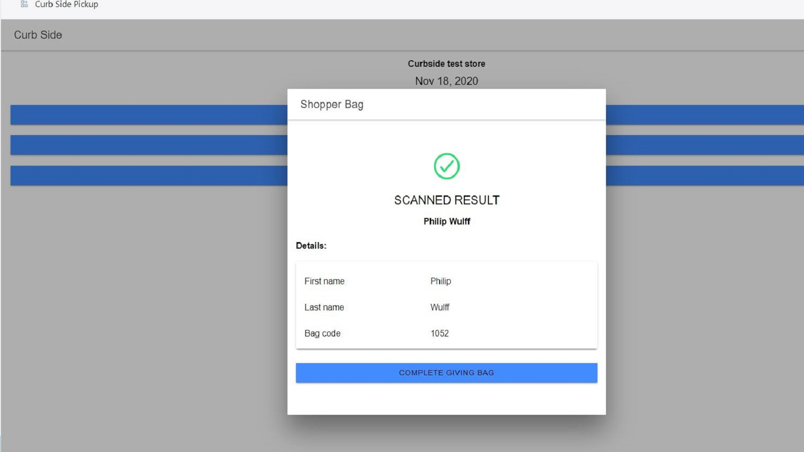 Absolute order delivery confirmation with notification