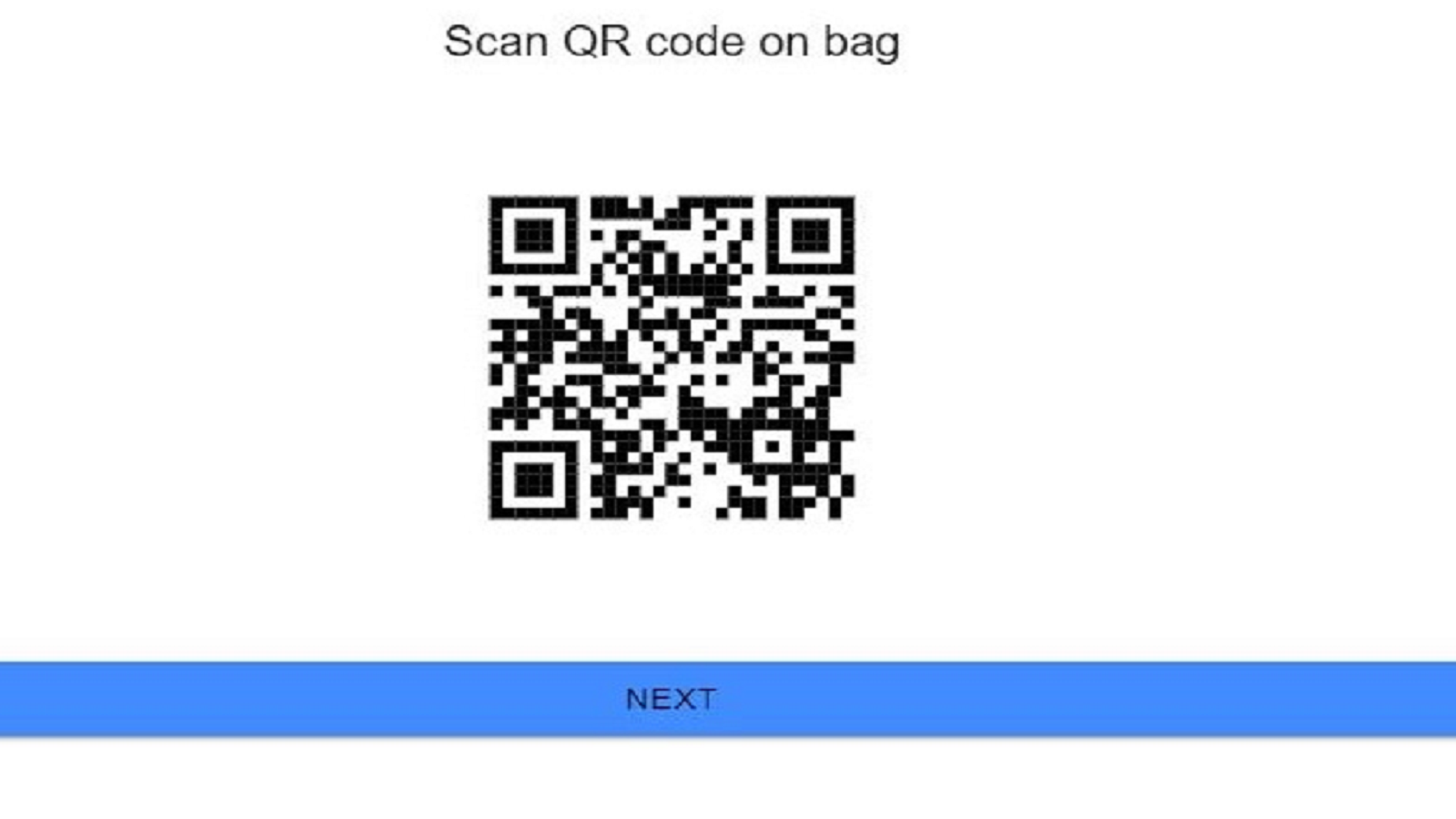 identify locations and orders with QR or barcodes