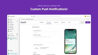 Improve Customers Engagement with Custom Push Notifications