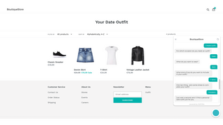 Create and shop for personalized outfits for any occasion