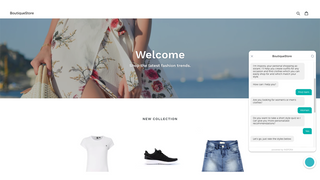 Personal fashion sales assistant for your online store.