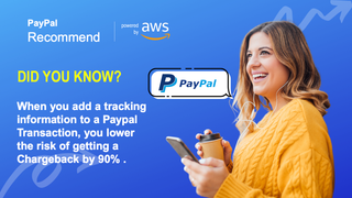 Paypal recommended tracking sync