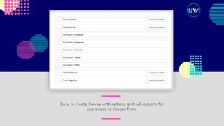 Easy to create Survey with options and sub-options