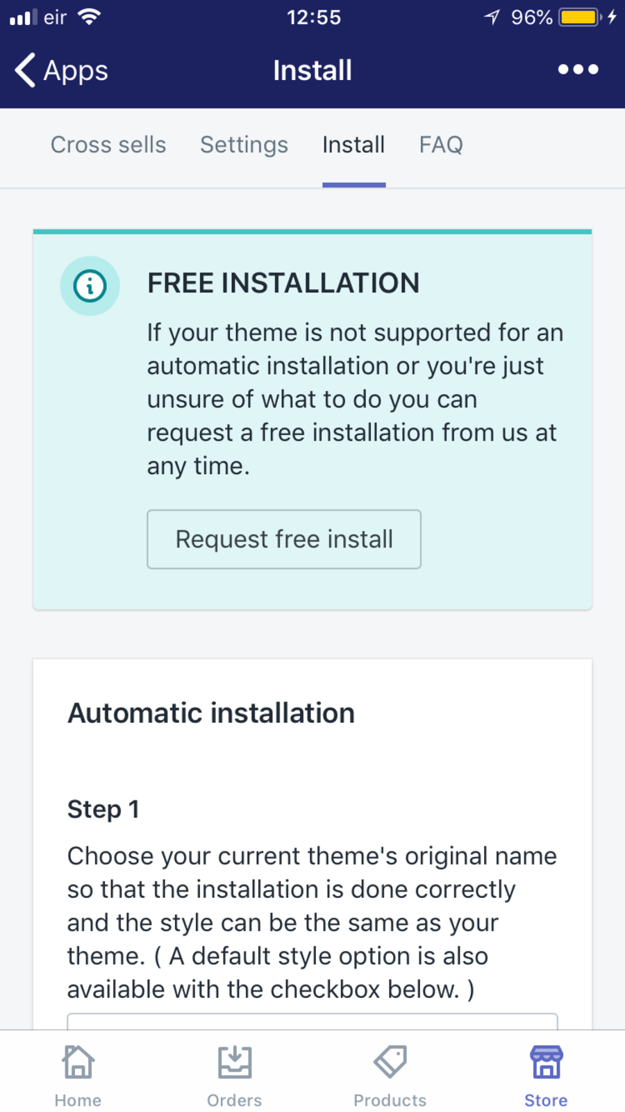 Automated install process