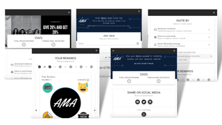 Customer Referral & Invitation Experience, Embedded on your Site