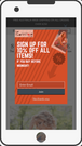 Responsive referral & email popups using your uploaded design