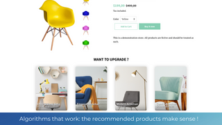 Recommendations, related products, cross sell, upsell