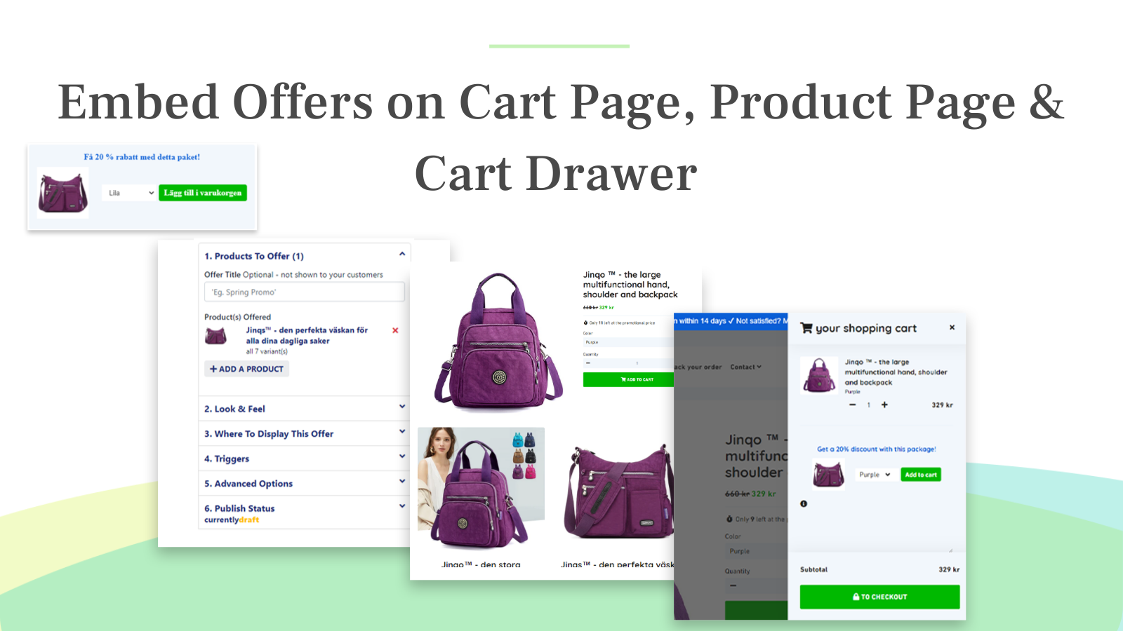 Compatible with all kinds of AJAX, drawer, and popup carts