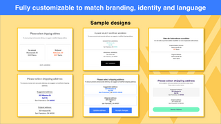 Fully customizable to match branding, identity and language