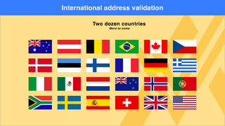 International address validation
