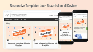 Responsive Blog Templates and Related Blog Posts