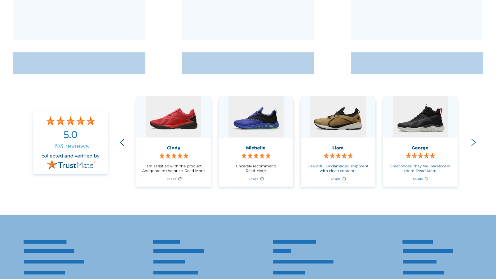 Product widget - show users product reviews and photos