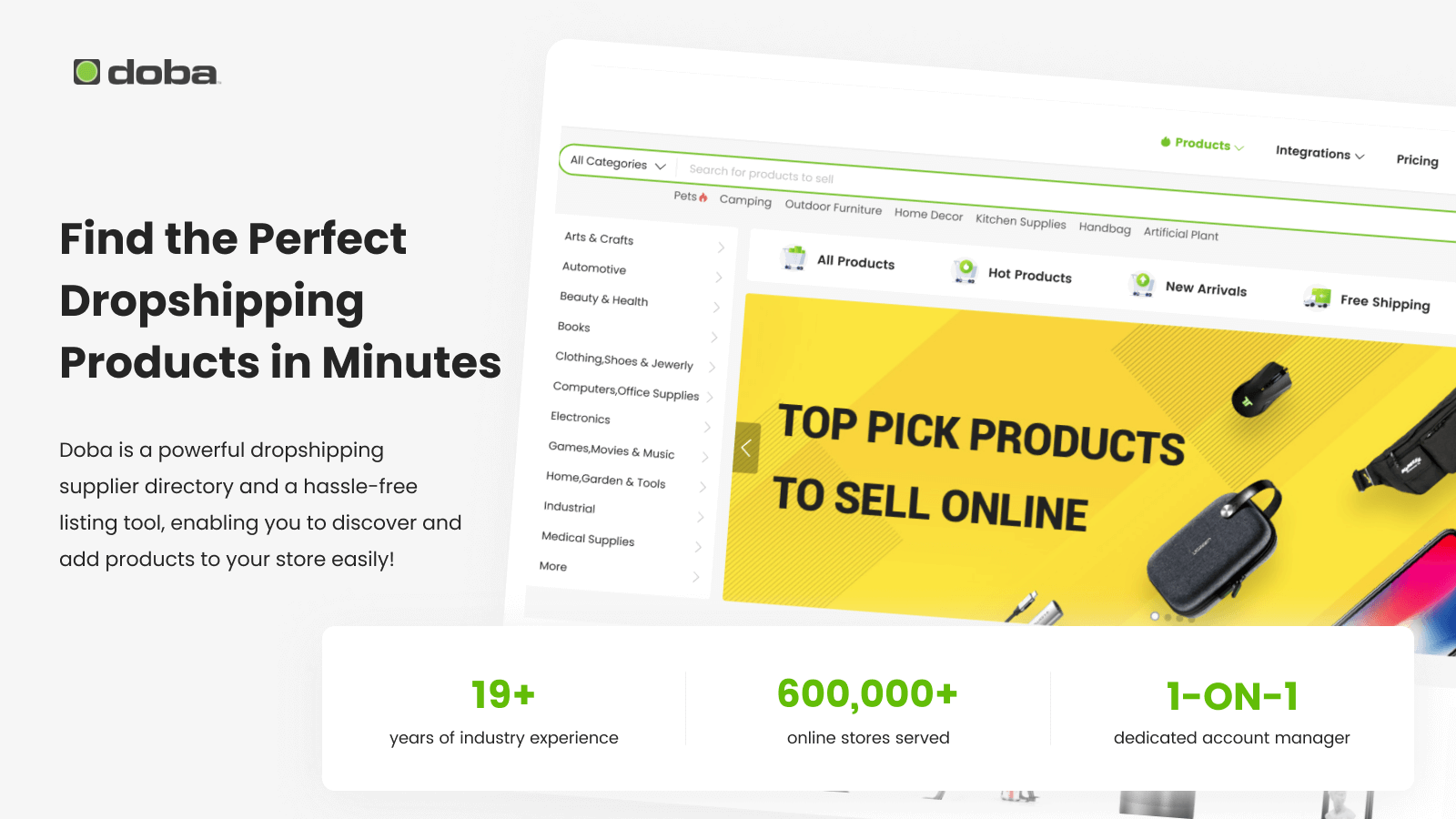 Find The Perfect Dropshipping  Products In Minutes
