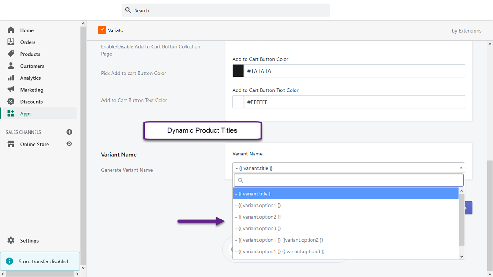 Dynamic Product Titles