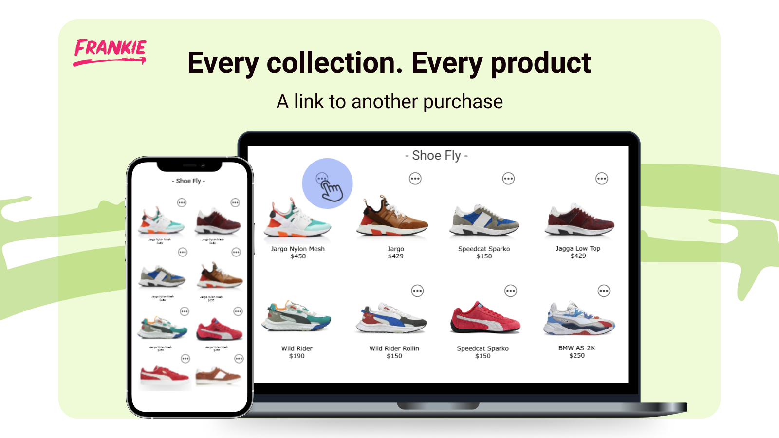 Inline Collection Products are related product recommendations