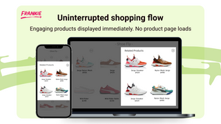 Inline immediately displays product recommendations
