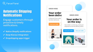Automatic shipping notifications
