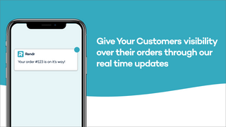 Track your order from store to door