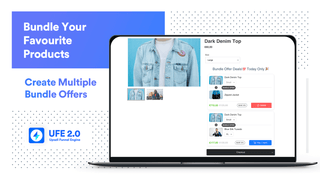 Multiple Upsell Bundle Offers embed on upsell funnels page