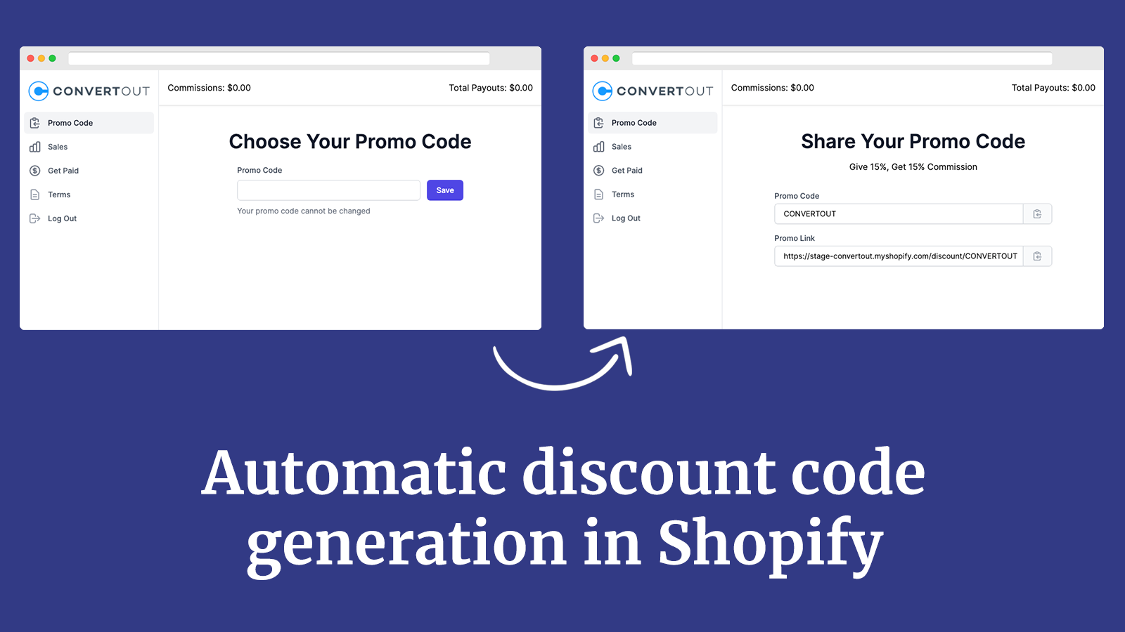 Automatic discount code generation in Shopify