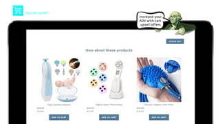 My Cart Upsell | Add Cart Upsell to cross sell Products