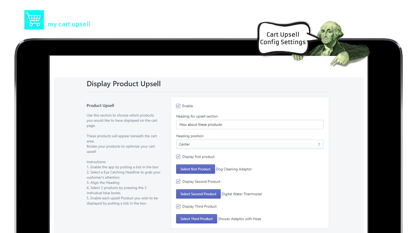 My Cart Upsell System | Optimize your cart with upsells