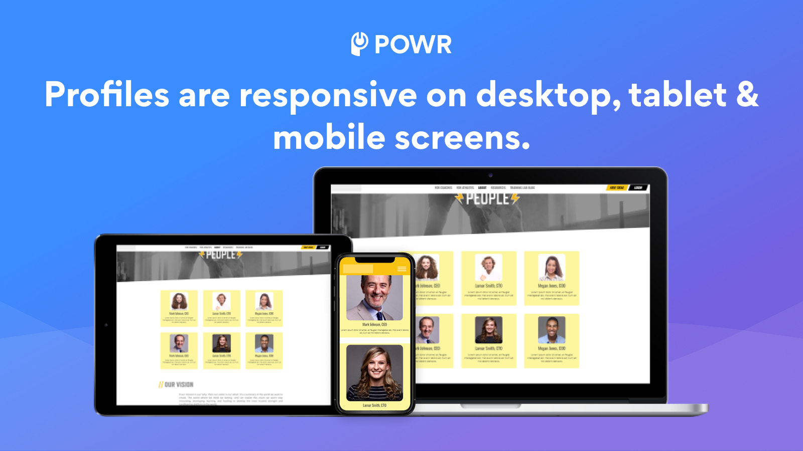 About Us is mobile responsive.