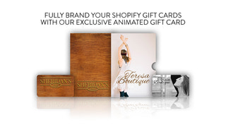 Custom Shopify gift cards