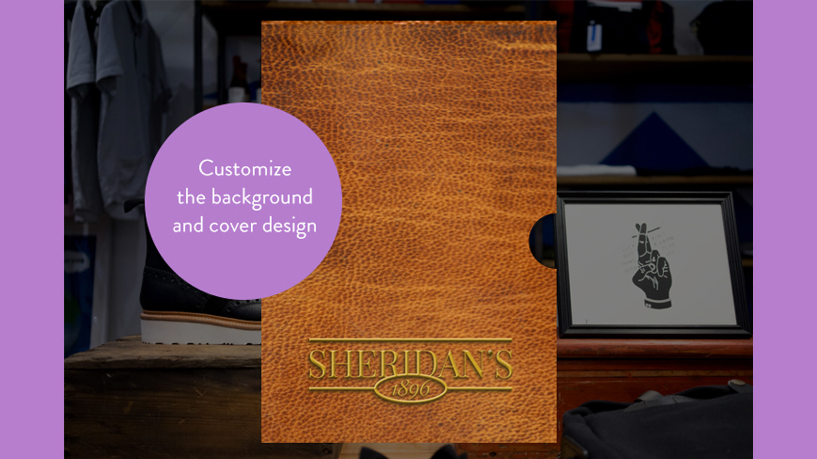 Custom Shopify gift card cover