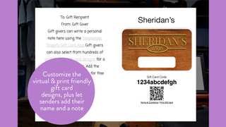 Custom Shopify gift card inside