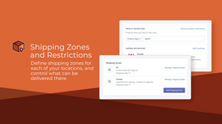 Shipping Zones and Restrictions