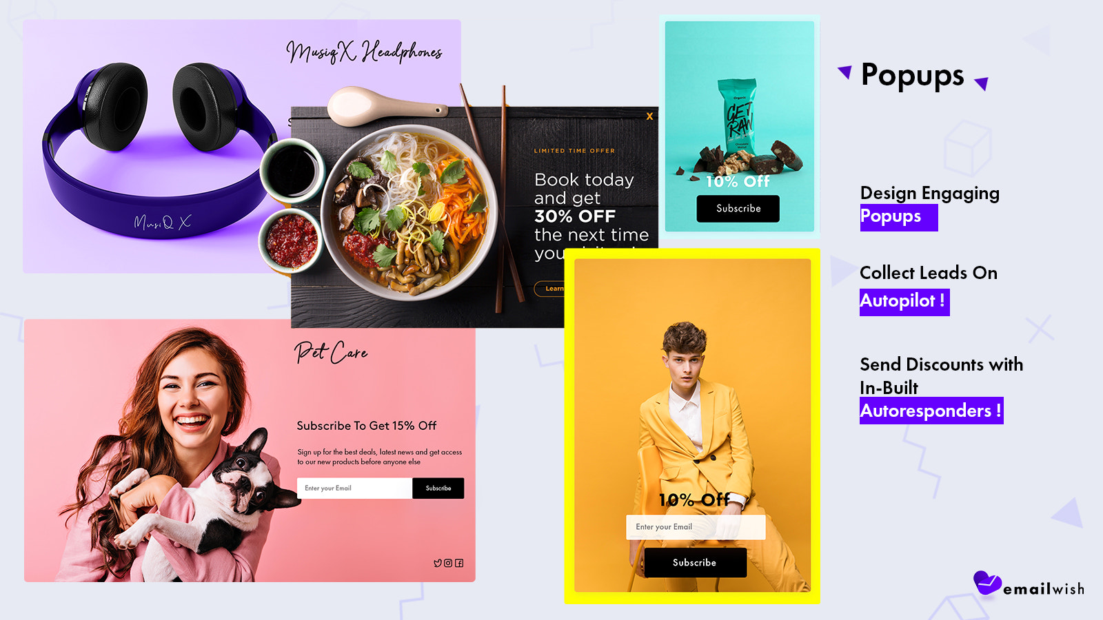 Email Marketing, abandoned cart, popups, chats & reviews shopify
