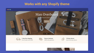 Works with any Shopify theme