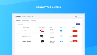 Manage your bundles
