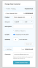 Create new orders for customers