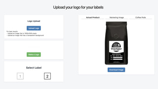 Private label coffee dropshipping with your logo