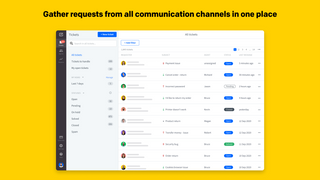 Gather requests from all communication channels in one place