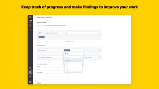 Keep track of progress and make findings to improve your work
