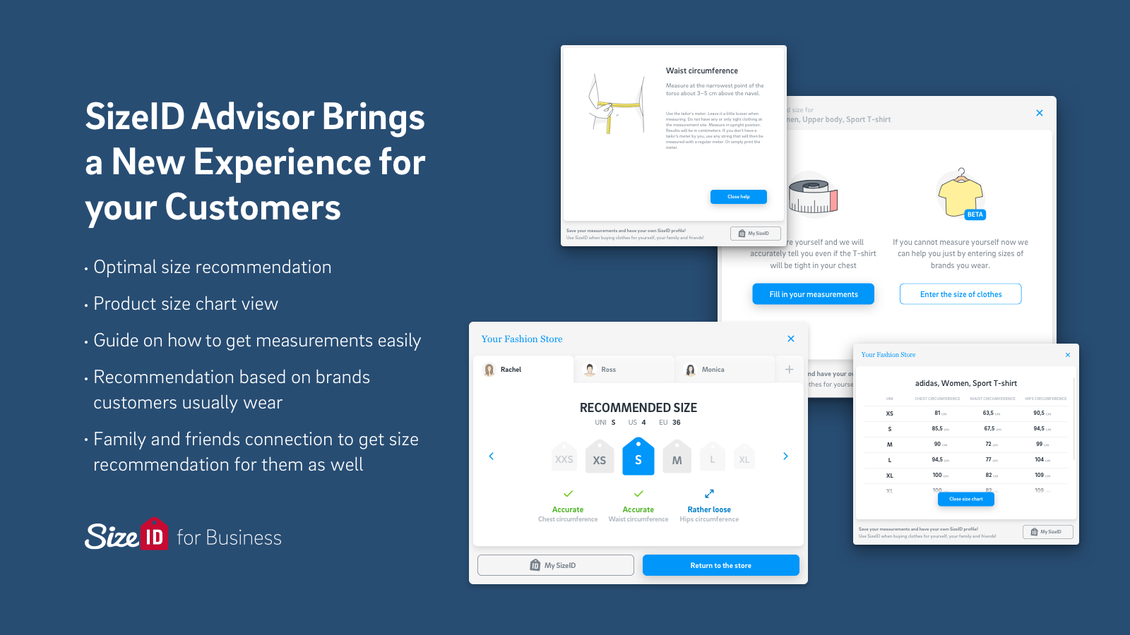 SizeID Advisor Brings a New Experience for your customers