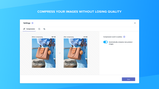 Compress your images without losing quality