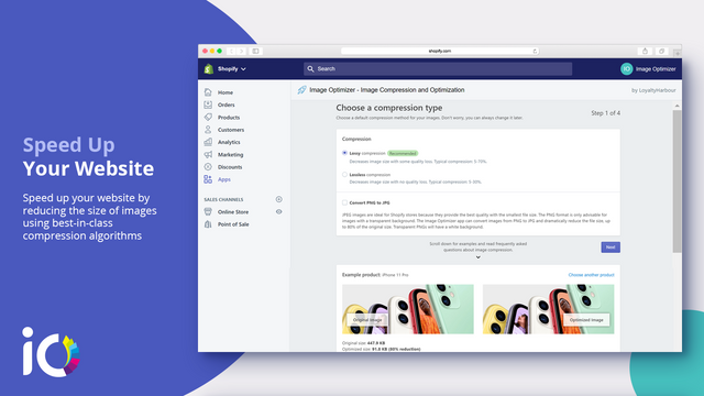 Image Optimizer and Compression for Shopify