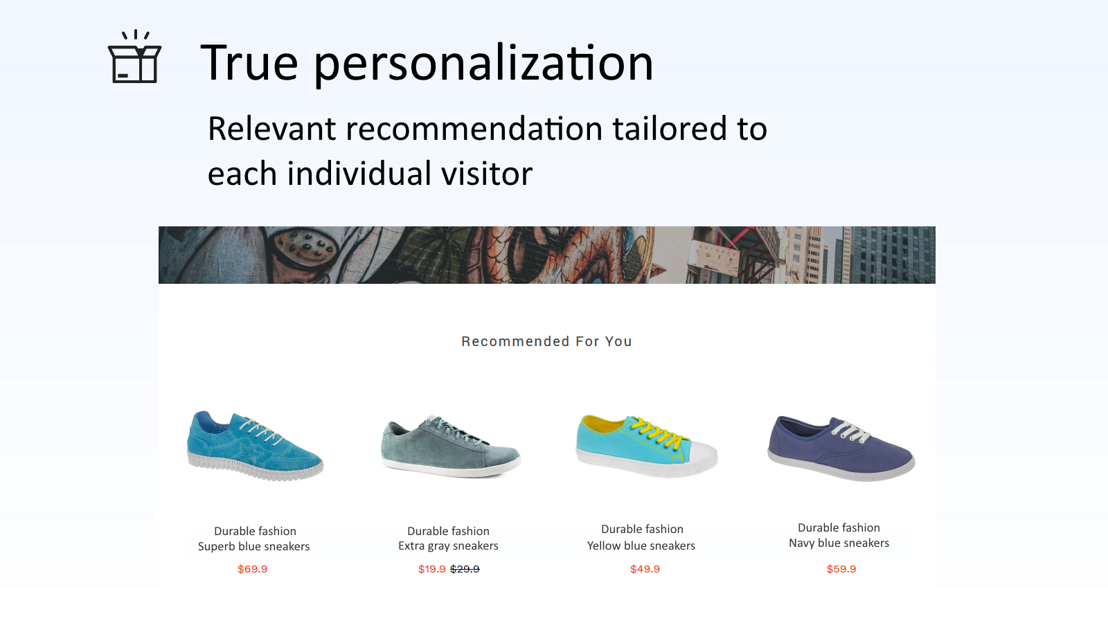 Real-time relevant product recommendations