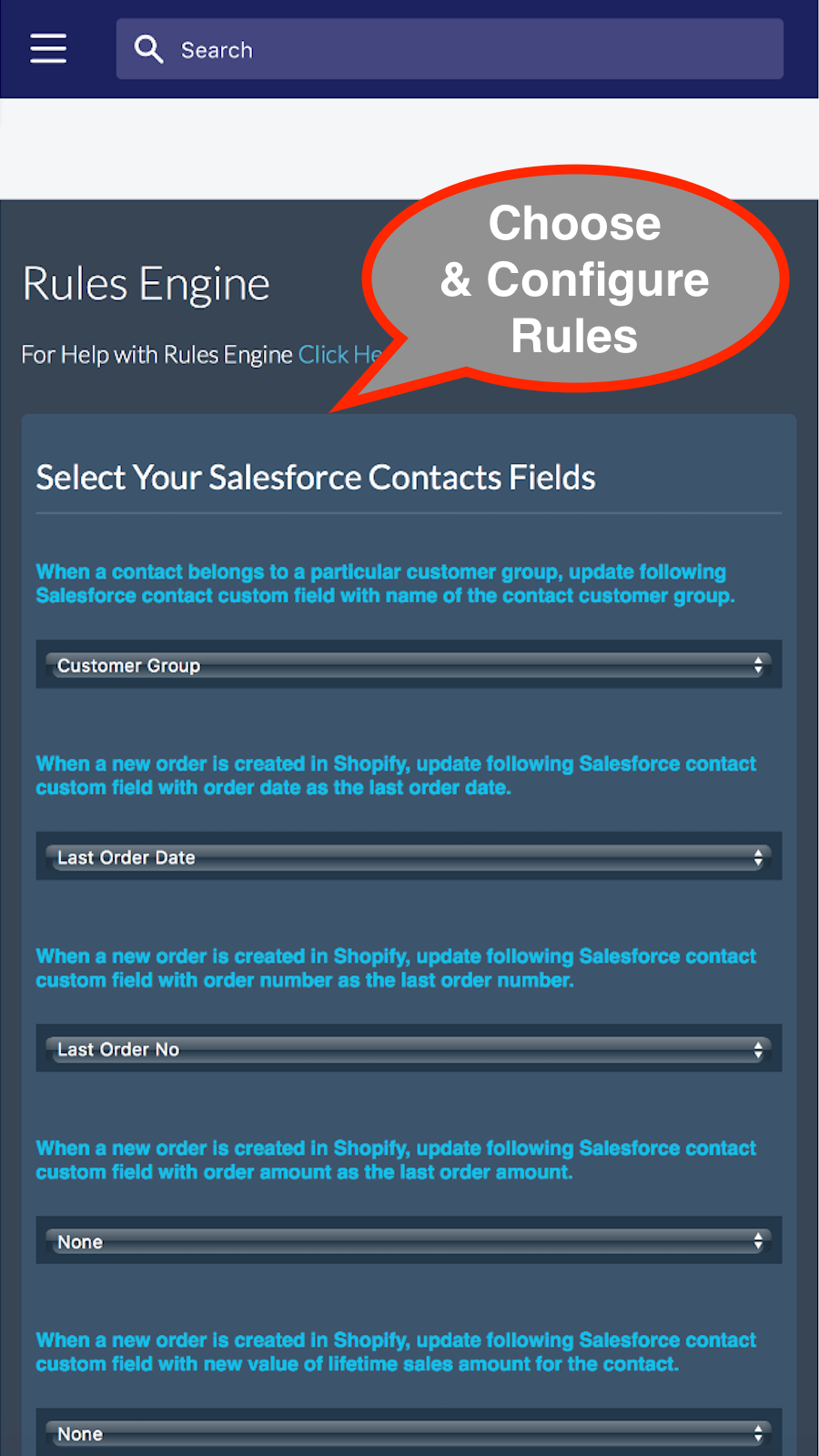 Rules Engine for Salesforce, Zoho CRM or HubSpot