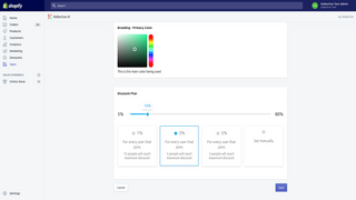 Adjust interface and promotions to optimally convert users