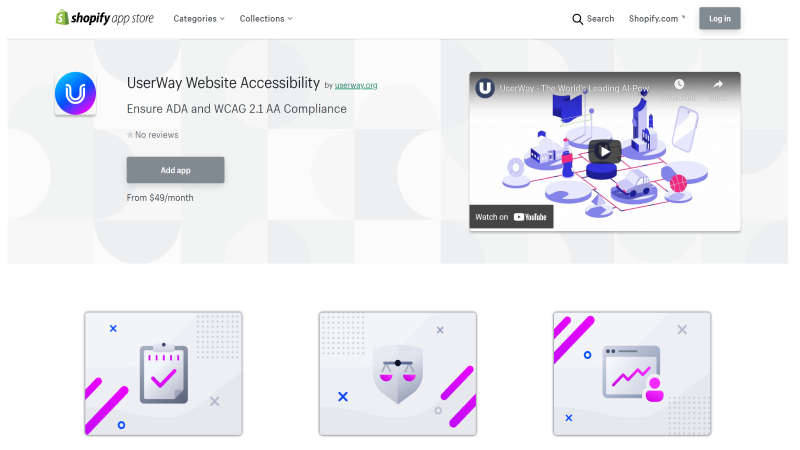 UserWay Shopify Storefront